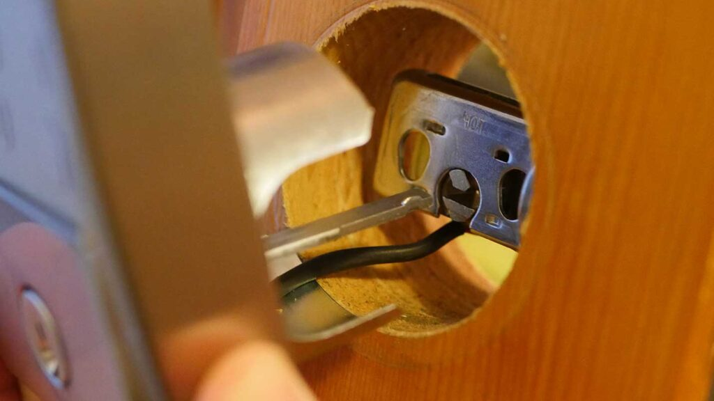 replacing a yale lock